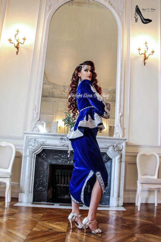Karakou traditionel bleu