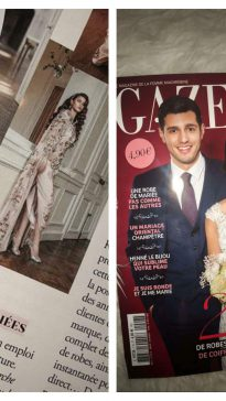 Parution Gazelle Magazine HS MARIAGE ORIENTAL